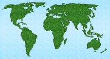 Free World Map Stock Photo - 4556350