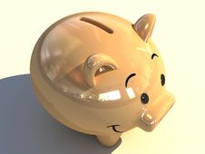 Free Piggy Bank Stock Image - 4556451