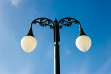 Free Lamp Post And Bright Sky Royalty Free Stock Photography - 4557217