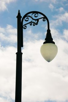 Free Lamp Post And Bright Sky Stock Photography - 4557222