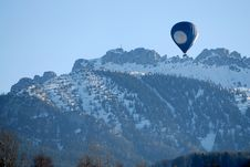 Free Baloon On The Mountains Background Stock Photo - 4557240