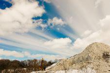 Free Mountain Of Snow Stock Image - 4557351
