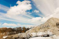Free Mountain Of Snow Royalty Free Stock Image - 4557356