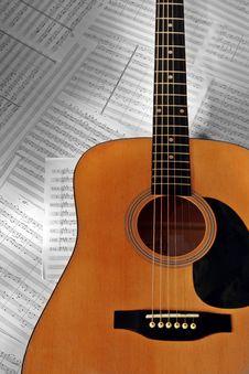 Free Wooden Guitar Stock Photos - 4557883