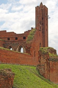 Free Ruins Of A Medieval Castle Royalty Free Stock Photo - 4558335