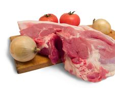 Meat Is Pork Royalty Free Stock Image