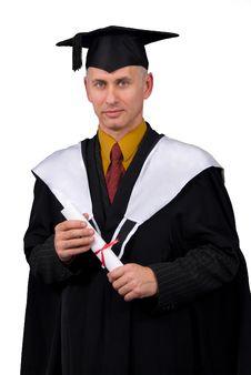Free Happy Grad Royalty Free Stock Photo - 4558665