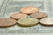 Money -  Coins And Banknote Stock Photo
