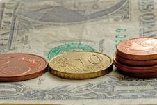 Money -  Coins And Banknote Stock Photography