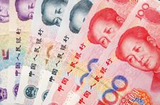 Free Chinese Paper Currencies Royalty Free Stock Photos - 4558798