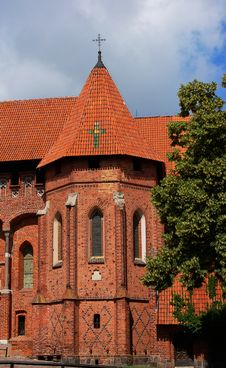 Free Malbork Castle Royalty Free Stock Photo - 4558825