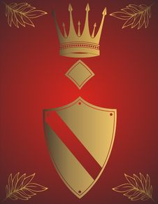 Free Golden Crown Royalty Free Stock Image - 4559816