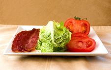 Bacon Lettuce Tomato Stock Images