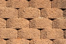 Free Red Block Wall Royalty Free Stock Photography - 4559957
