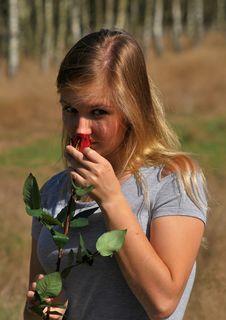 Free Beautiful Young Woman Royalty Free Stock Photo - 45599165