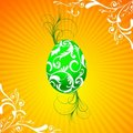 Free Easter Illustration With Painted Egg Stock Images - 4567064