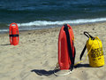 Free Ocean Rescue Gear Near Water Royalty Free Stock Photos - 4567928