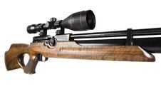 Sniper Rifle And Scope