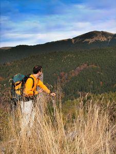 Free Trekker Stock Image - 4561631