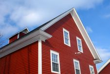 Free Top Of Red Barn Roof Stock Photos - 4562573