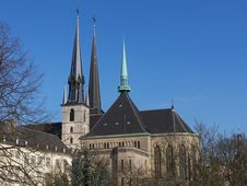 Free Cathedral In Luxembourg Royalty Free Stock Photo - 4563015