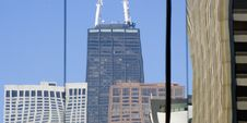 Free Reflections Of Downtown Chicago Royalty Free Stock Photos - 4563108