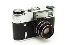 Free Retro 35mm Camera. Stock Images - 4563504
