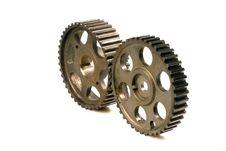 Free Cogwheels On White Stock Images - 4564134