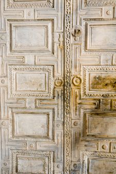 Free Marble Door From Hagia Sophia In Istanbul, Turkey Stock Images - 4564264