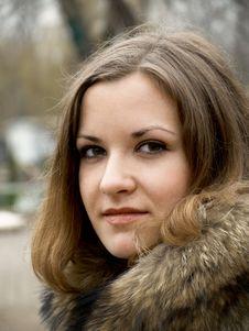 Free Girl In Fur Royalty Free Stock Photos - 4564278