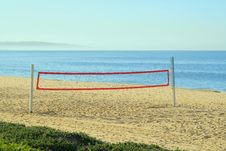 Free Beach Volleyball Net Royalty Free Stock Photo - 4564625