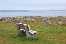 Free Seaside Bench Stock Images - 4564654