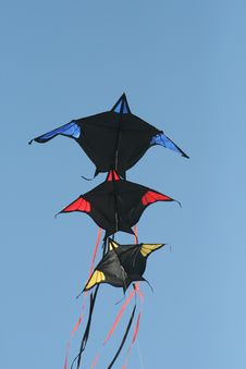 Batman Kites Stock Photos