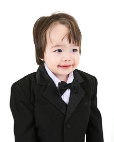 Free Child Tuxedo Stock Photo - 4564910