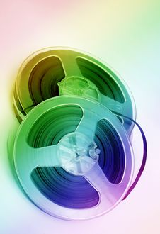 Free Old Stereo Magnet Tape Stock Images - 4565854