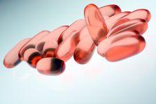 Free Red Pills Stock Image - 4567221