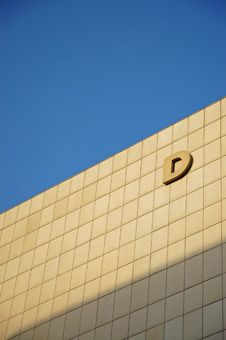Free Letter D On The Wall Royalty Free Stock Image - 4567276