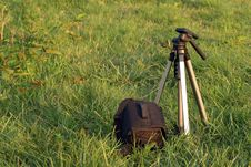 Free Tripod And Bag Stock Images - 4567294