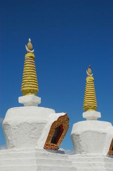 Free Stupa Royalty Free Stock Photo - 4567395