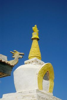 Free Stupa Royalty Free Stock Image - 4567426