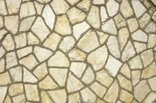 Free Wall Of White Rough Stones Royalty Free Stock Images - 4567709