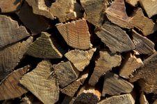 Free Firewood Background Royalty Free Stock Photo - 4568045