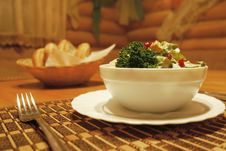 Free Salad Served For Meal Royalty Free Stock Images - 4568359