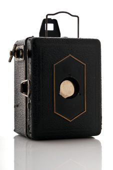 Free Old Camera Retro, Box Royalty Free Stock Photos - 4569158