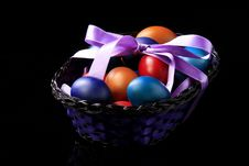 Free Basket Of Eggs 2 Royalty Free Stock Images - 4569999