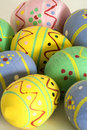 Free Easter Eggs Painted By Hand Stock Images - 4572484