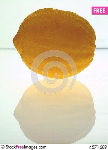 Free Rough-Skinned Lemon Royalty Free Stock Images - 4571689