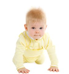 Free Boy At The Age Of 7 Months Stock Images - 4570094