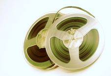 Free Old Stereo Magnet Tape Royalty Free Stock Image - 4571076