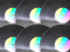Free Vinil Disc For Club Party Stock Photography - 4571112